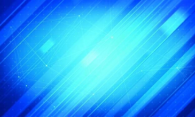 Fundo corporativo de notícias azul. conceito de negócio abstrato