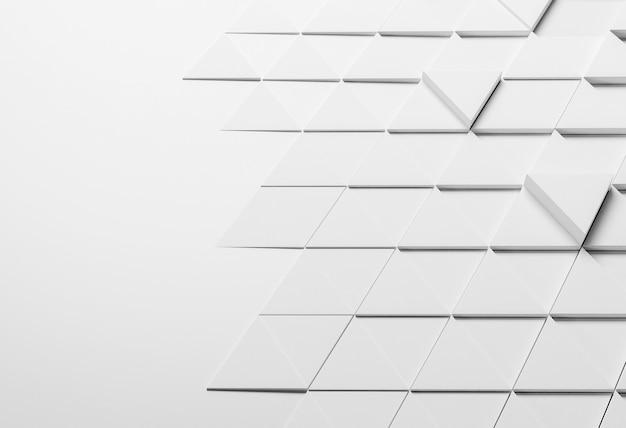 Fundo criativo com formas geométricas
