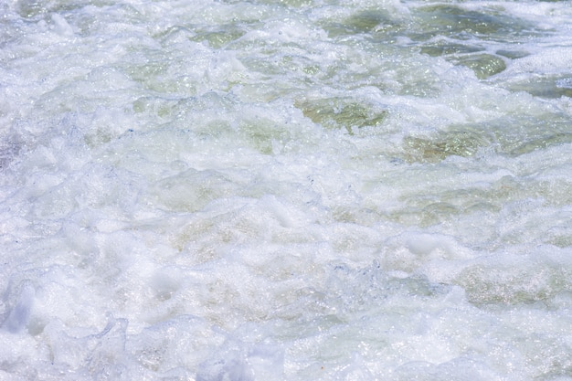 Fundo da água do oceano.