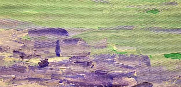 Fundo da arte abstrata com manchas de tinta acrílica na tela arte moderna pincel largo textura de cor arte para design criativo