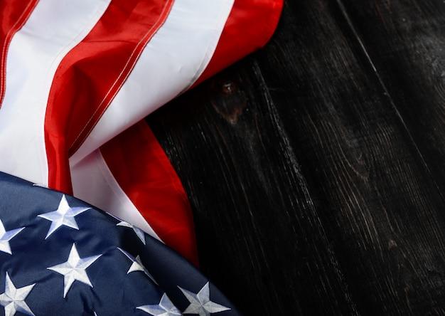 Fundo da bandeira americana para o memorial day ou 4 de julho