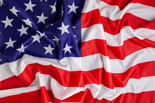 Fundo da bandeira da américa