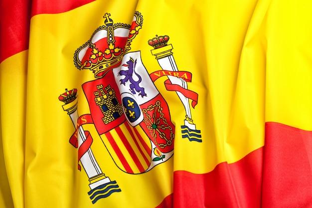 Fundo da bandeira de espanha