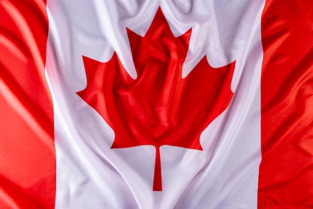 Fundo da bandeira do canadá. feliz dia do canadá. dia da independência. 1 de julho