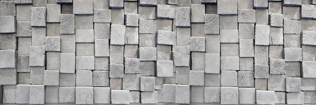 Fundo da bandeira do sumário da textura da arquitetura da arte da madeira envelhecida