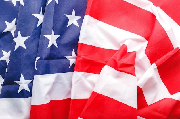 Fundo da bandeira dos eua. bandeira nacional americana