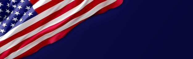 Fundo da bandeira dos eua