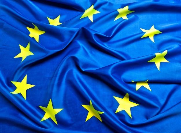 Fundo da bandeira europeia
