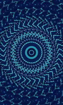 Fundo da borda da borda da tinta da gravata azul índigo. pintado em faixa de faixa lateral de lavagem aquarela. elemento de design web abstrato moderno boho, divisor ou pano de fundo de tinta decorativa para telefone celular.