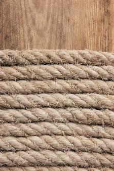 Fundo da corda de cânhamo