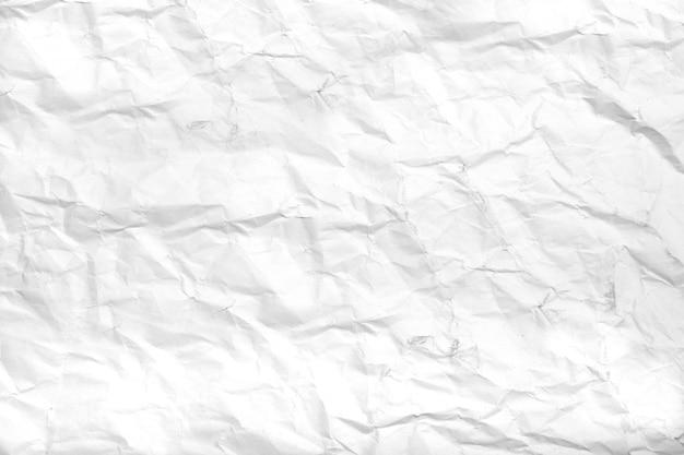 Fundo da folha de papel amassado