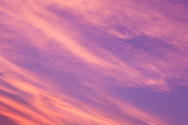 Fundo da foto das nuvens
