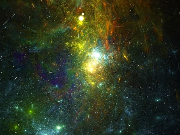 Fundo da galáxia nebulosa