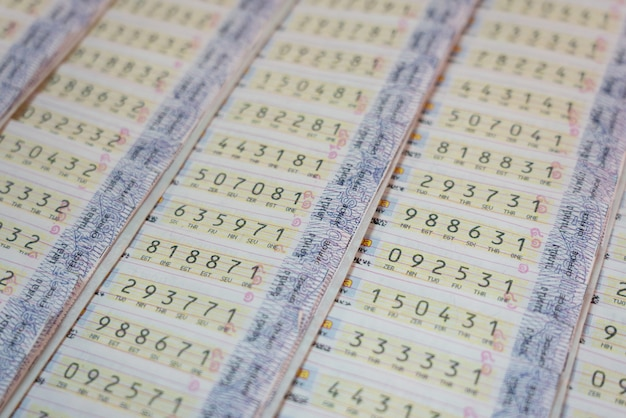 Fundo da loteria da tailândia