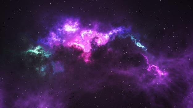 Fundo da nebulosa do espaço