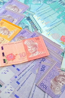 Fundo da nota ringgit da malásia