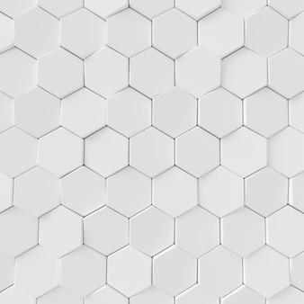 Fundo da parede da telha moderna. renderização em 3d.