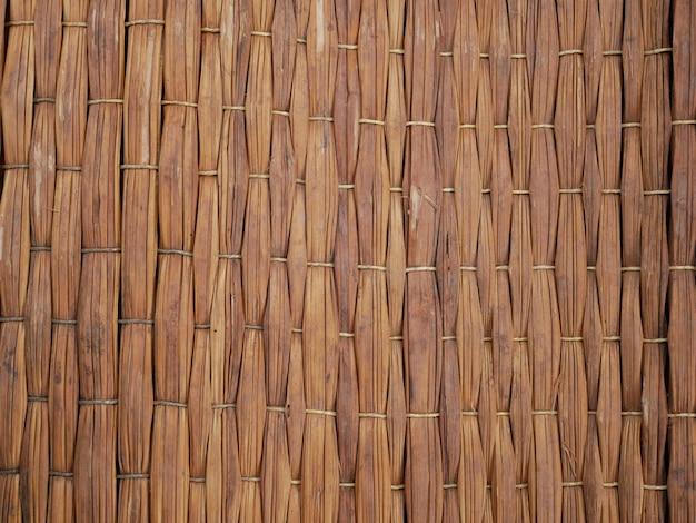 Fundo da parede de bambu