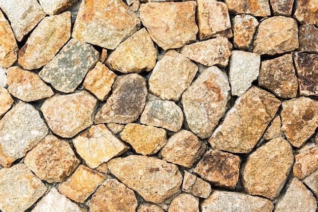 Fundo da parede de pedra cinza e marrom
