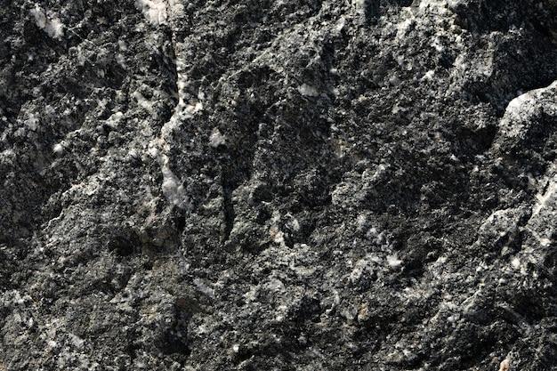Fundo da parede de pedra preto com cinza