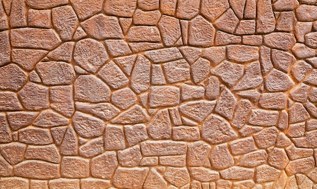 Fundo da parede de pedra