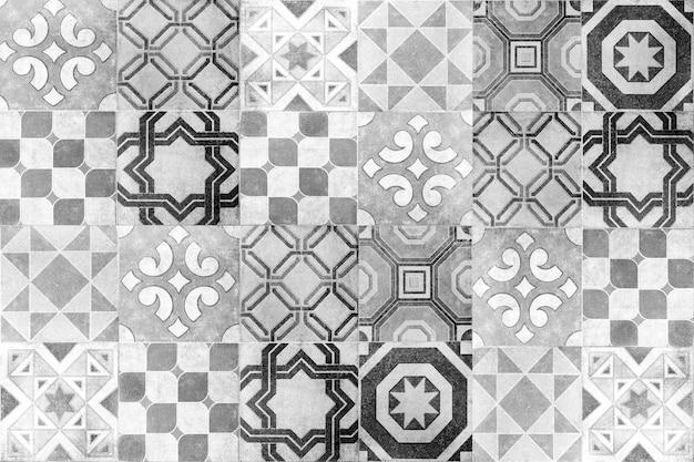 Fundo da parede de telhas cerâmicas turcas
