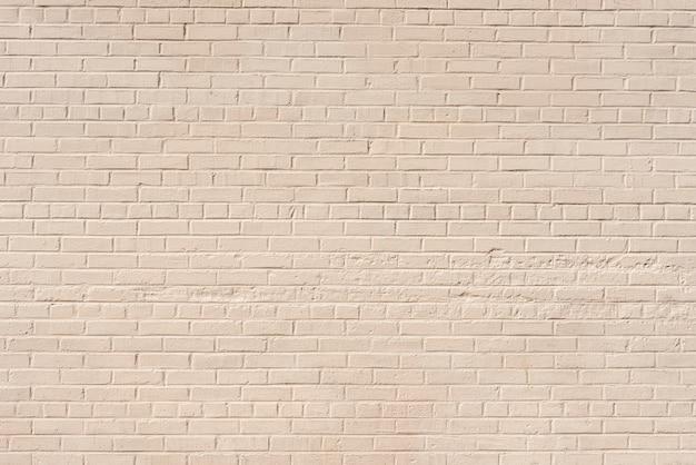 Fundo da parede de tijolo branco abstrato