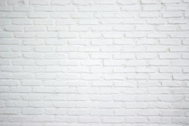 Fundo da parede de tijolo branco moderno