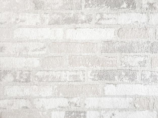Fundo da parede de tijolo branco. textura de concreto feito de material de pedra.