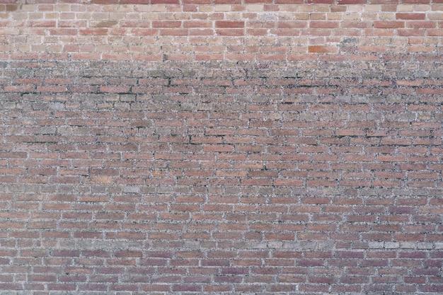 Fundo da parede de tijolo marrom. fundo da parede de tijolos