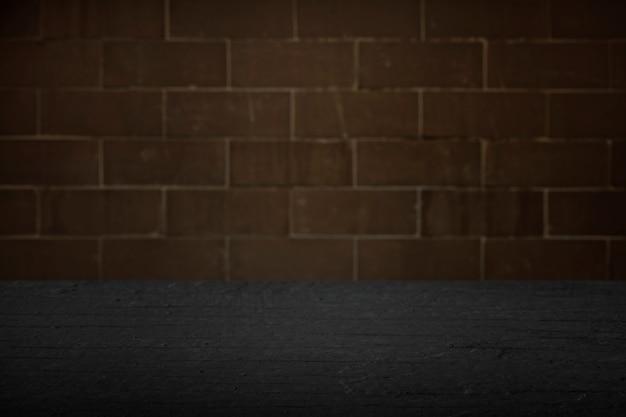 Fundo da parede de tijolo rústico
