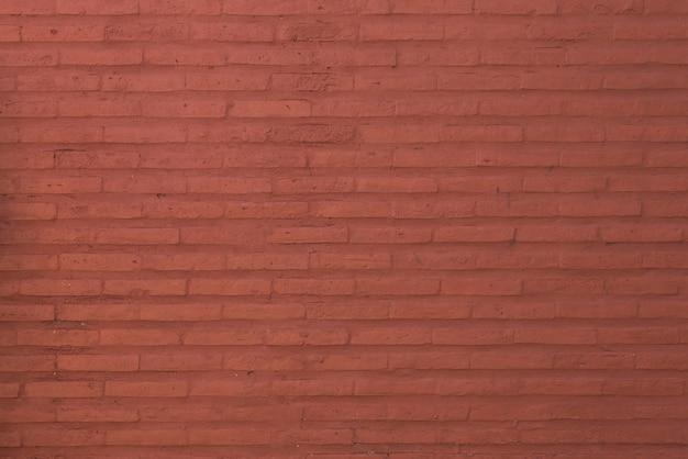 Fundo da parede de tijolo vermelho