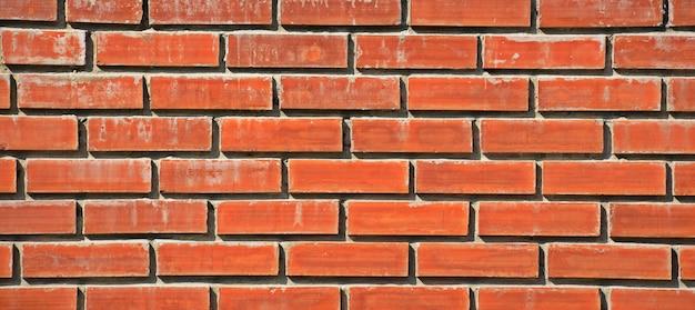 Fundo da parede de tijolos antigos vintage