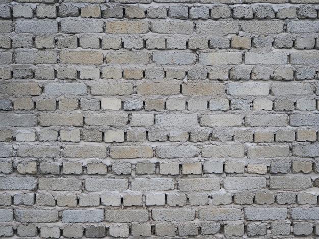 Fundo da parede de tijolos com a mesma cor