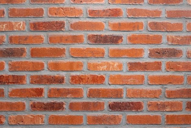 Fundo da parede de tijolos marrom abstrata