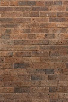 Fundo da parede de tijolos marrons