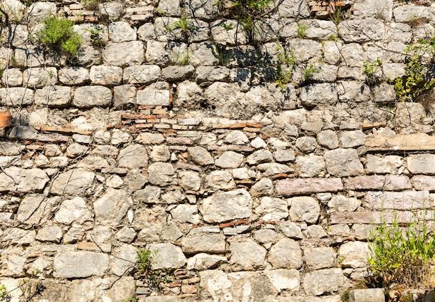 Fundo da parede de tijolos