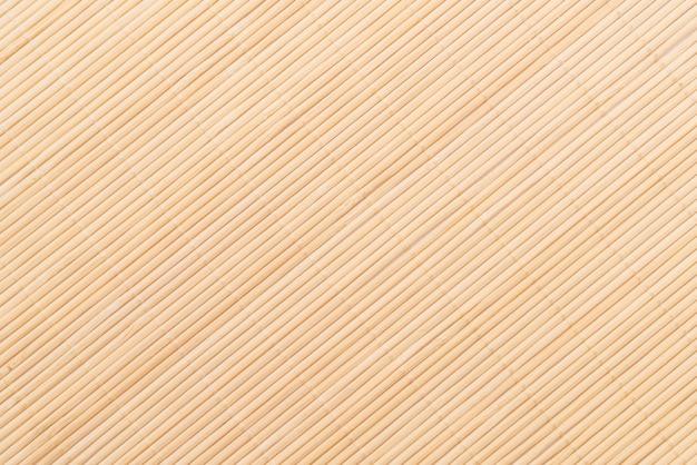 Fundo da superfície de bambu da esteira