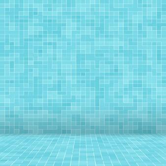 Fundo da telha do mosaico da piscina da textura.
