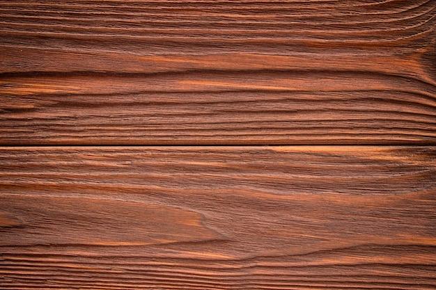 Fundo da textura da parede de prancha de madeira marrom escura