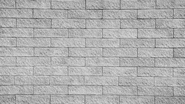 Fundo da velha parede de tijolos vintage - monocromático