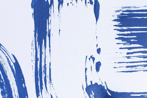 Fundo de acrílico azul texturizado abstrato arte criativa