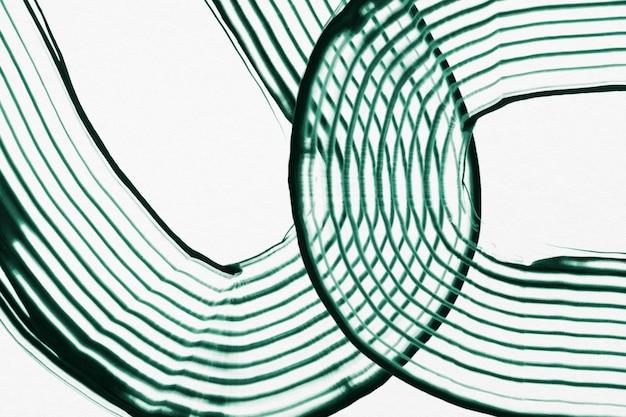 Fundo de acrílico verde texturizado arte abstrata mínima