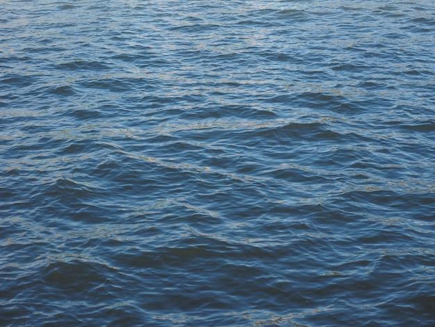 Fundo de água azul