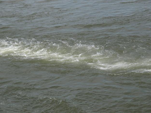 Fundo de água do mar