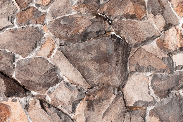 Fundo de alvenaria de pedra. textura de pedra
