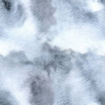 Fundo de aquarela cinza-branco e textura de tie-dye