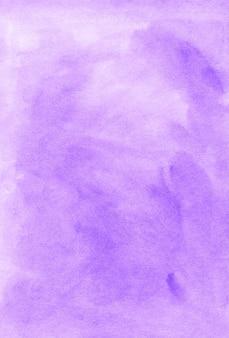 Fundo de aquarela lilás claro