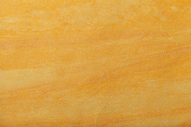 Fundo de arte abstrata com cor dourada e amarela