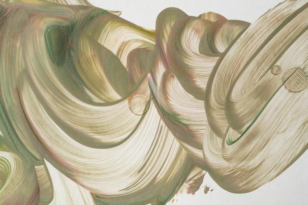 Fundo de arte fluido bege diy pintura acrílica
